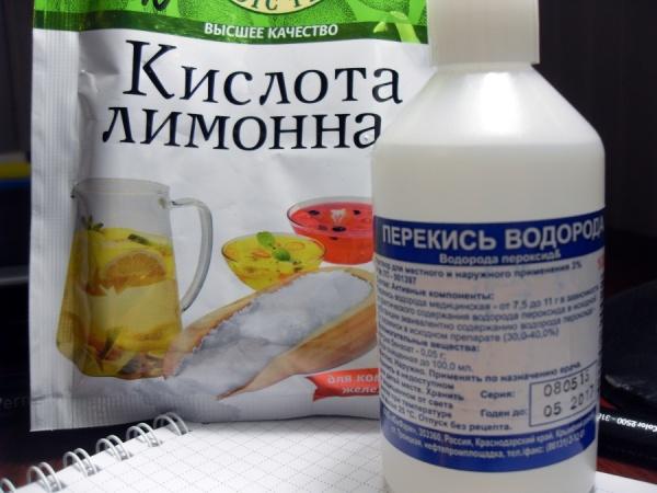 Как сделать лимонная кислота