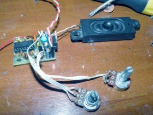 Схема простого FM радиоприемника на TDA7021