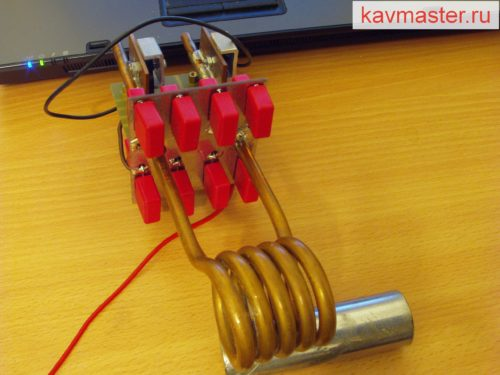 Схема Индукционного нагревателя на 500 ватт своими руками