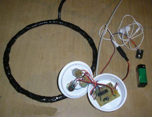 Простой металлоискатель своими руками, схема металлоискателя, схема простого металлоискателя