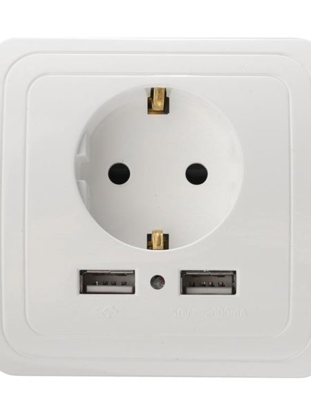 Сетевая Розетка с USB выходом купить в интернет магазине