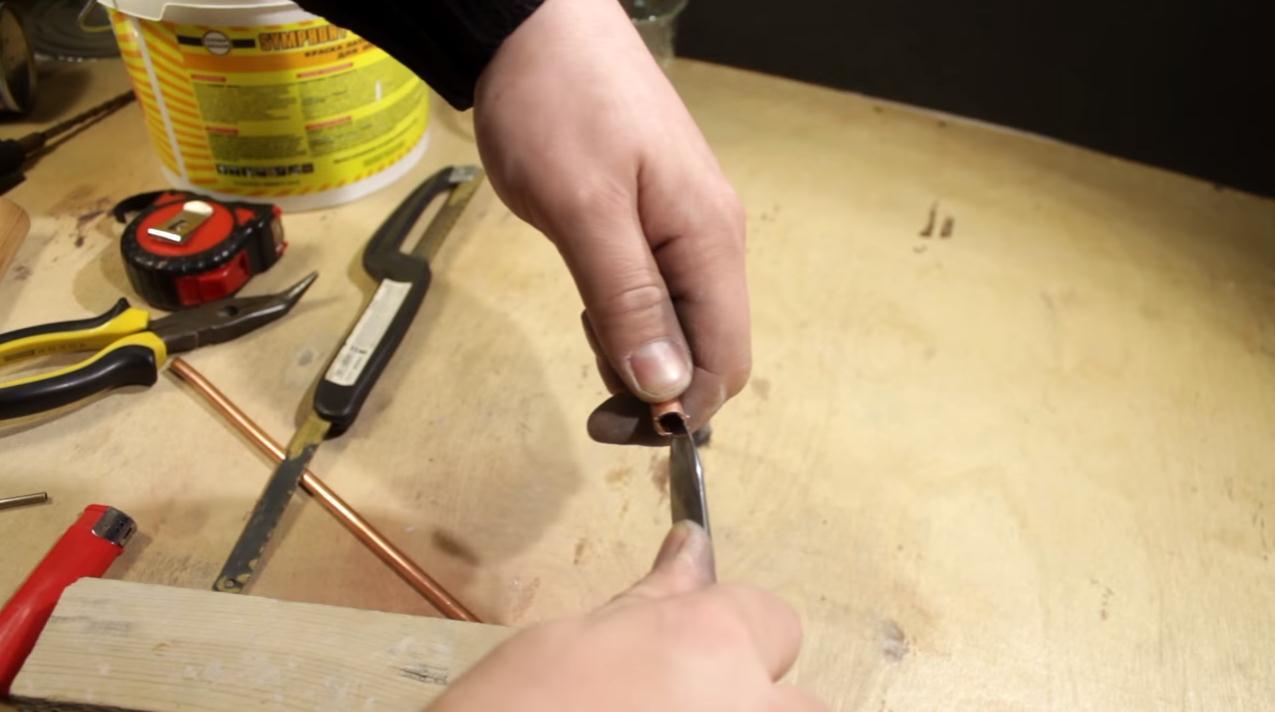 Как сделать горелку своими руками