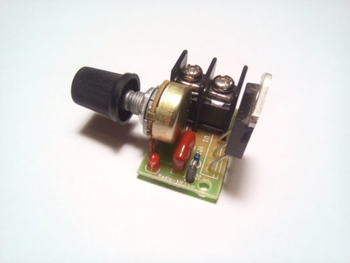 Регулятор мощности на симисторе динисторе 3,5кВт