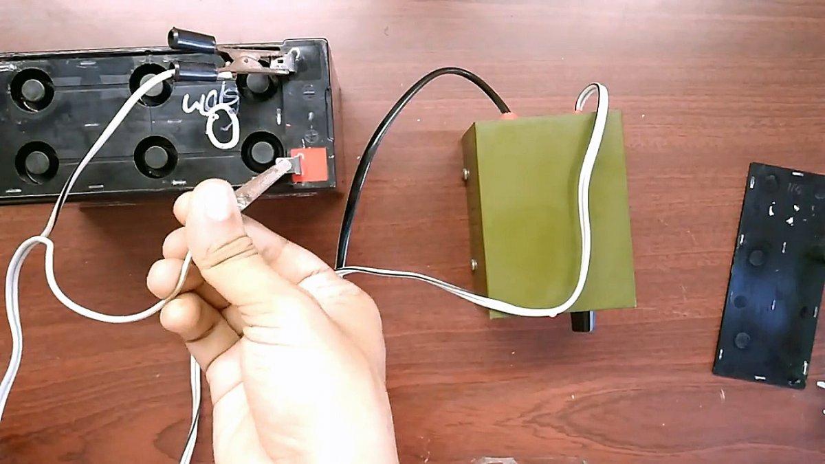 Как восстановить аккумулятор от бесперебойного источника питания