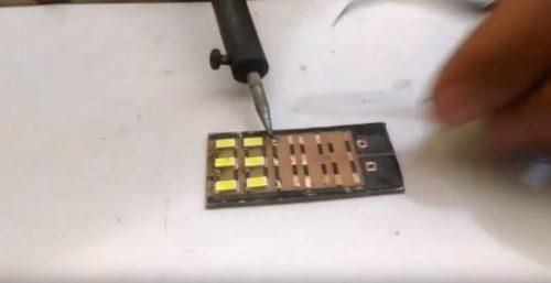 Распайка smd компонентов своими руками