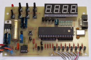 Электронный регулятор переменного напряжения
