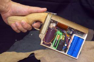 Гаусс пушка своими руками