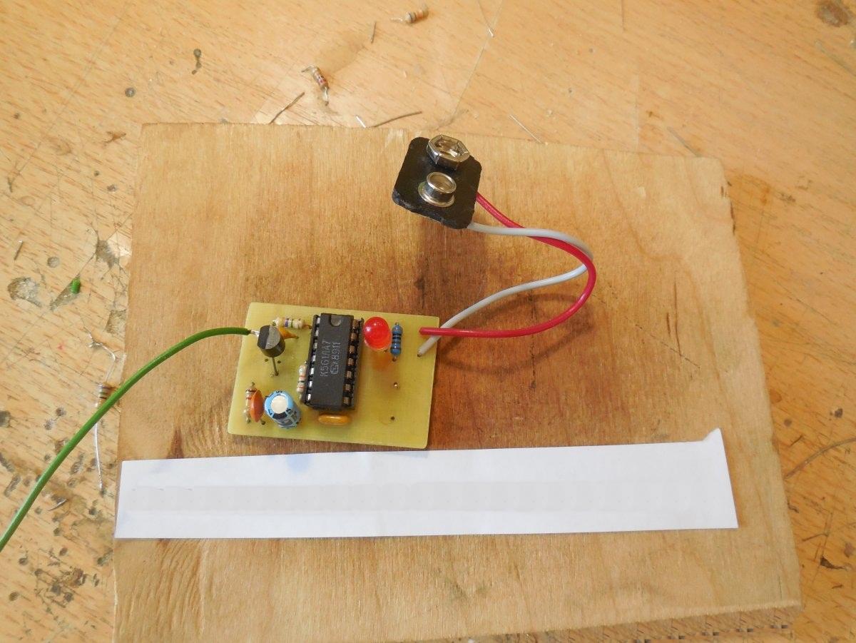 Детектор скрытой проводки своими руками фото 532