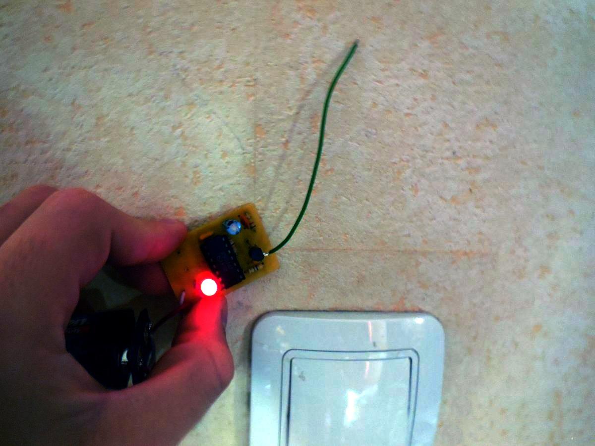 Детектор скрытой проводки своими руками фото 401