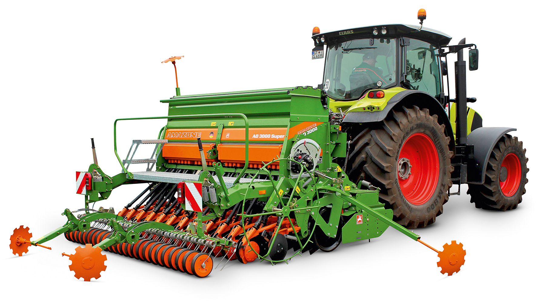 POWER HARROW&DRILL COMBINATION