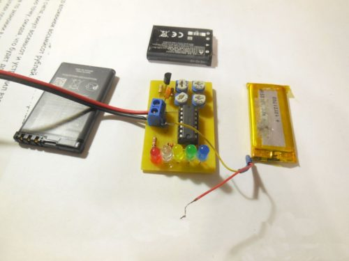 Индикатор разряда аккумулятора в сборе 3