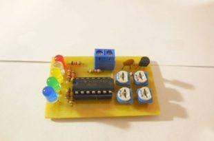 Индикатор разряда аккумулятора в сборе