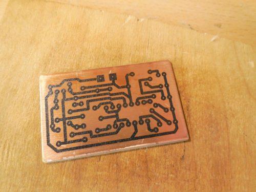 Индикатор разряда аккумулятора печатная плата