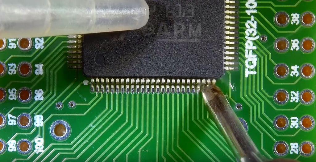 Пайка SMD компонентов своими руками