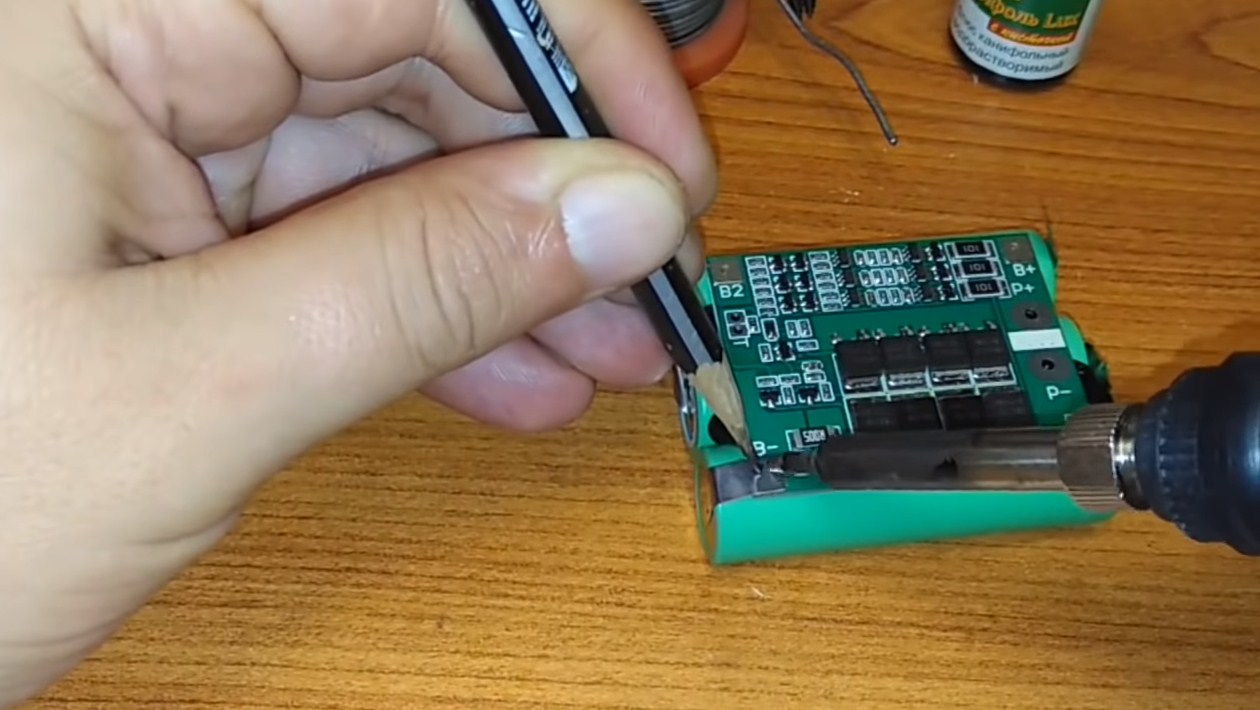 Переделка шуруповерта на Li-Ion аккумуляторы