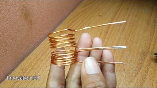 Изготовление катушки индукционного нагревателя 3