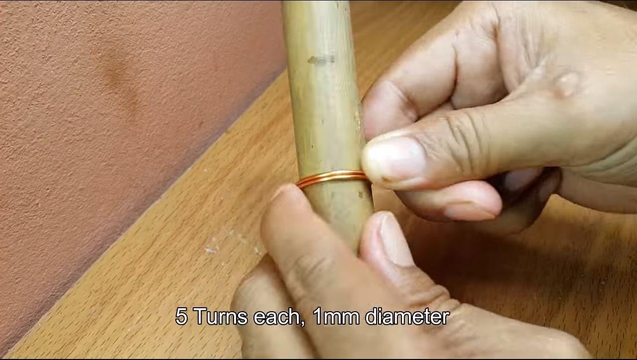 Изготовление катушки индукционного нагревателя