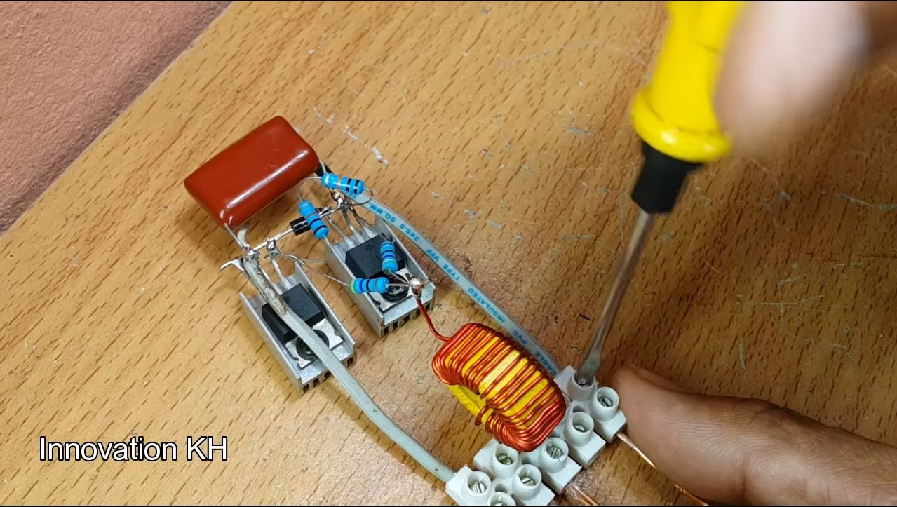 Индукционный нагреватель своими руками - 2