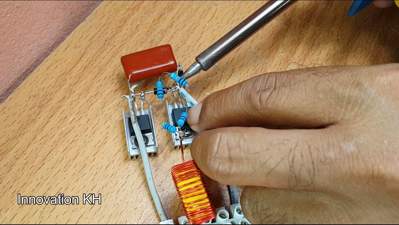 Индукционный нагреватель своими руками - 3