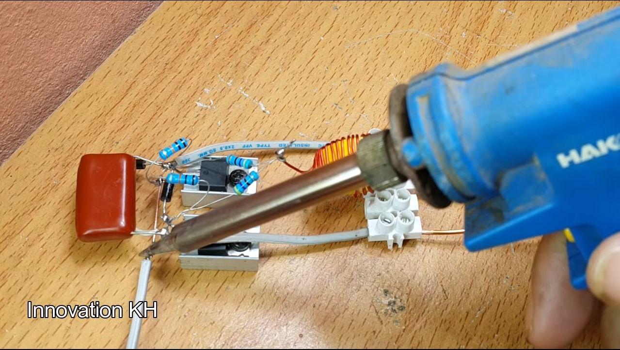 Индукционный нагреватель своими руками - 5