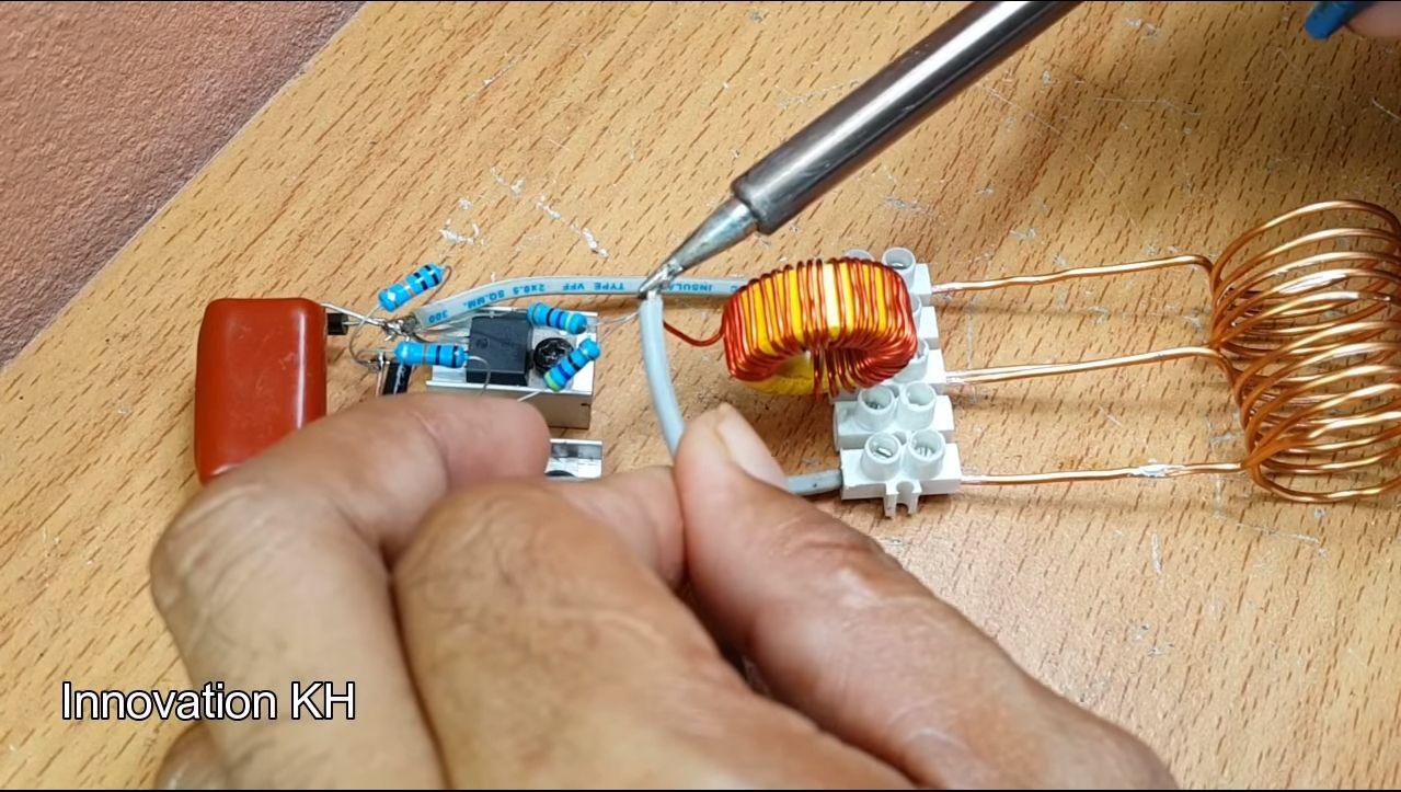 Индукционный нагреватель своими руками - 6