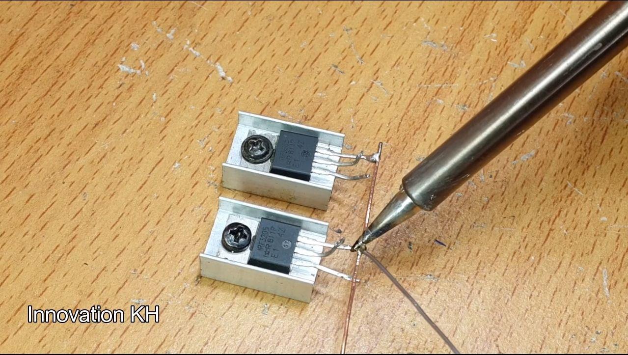2 Индукционный нагреватель 12В на IRF3205