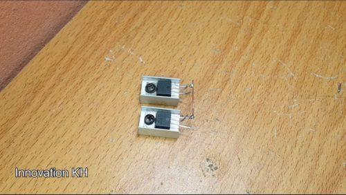 3 Индукционный нагреватель 12В на IRF3205