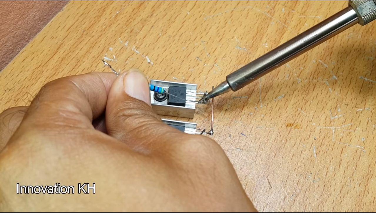 4 Индукционный нагреватель 12В на IRF3205