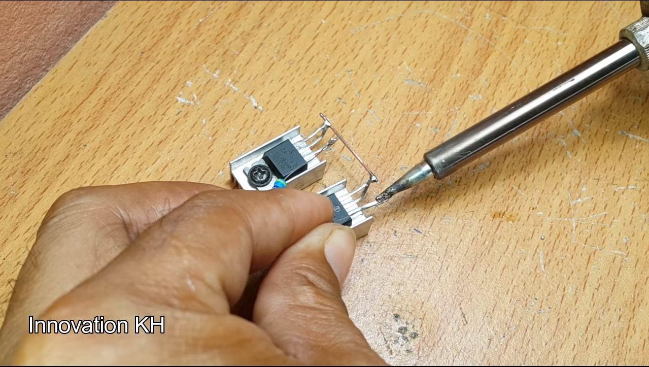 5 Индукционный нагреватель 12В на IRF3205