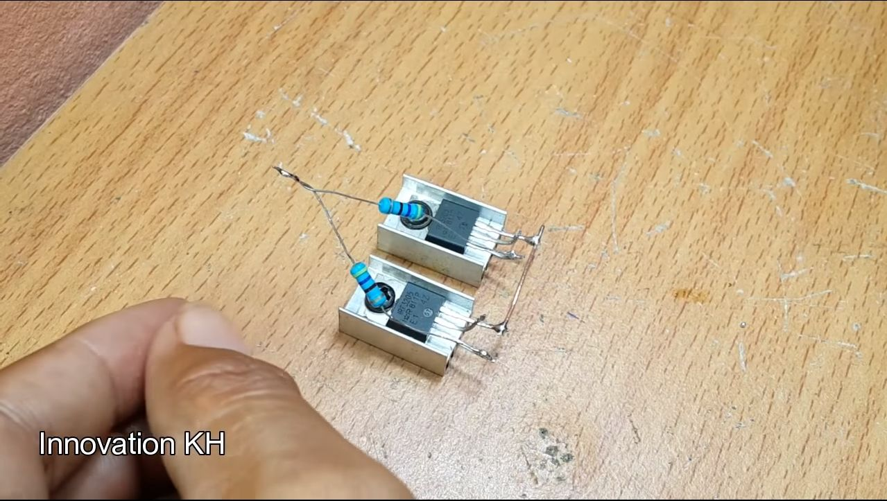 6 Индукционный нагреватель 12В на IRF3205