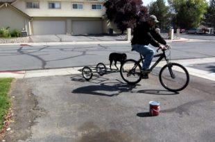 Велосипедный прицеп своими руками 43
