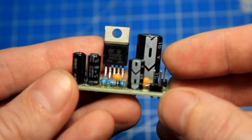 Усилитель звука на TDA2030a 14Вт из набора для начинающих