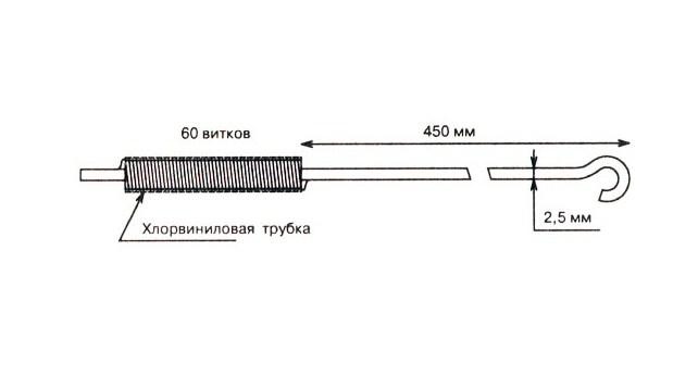 Антенна для рации на трёх транзисторах